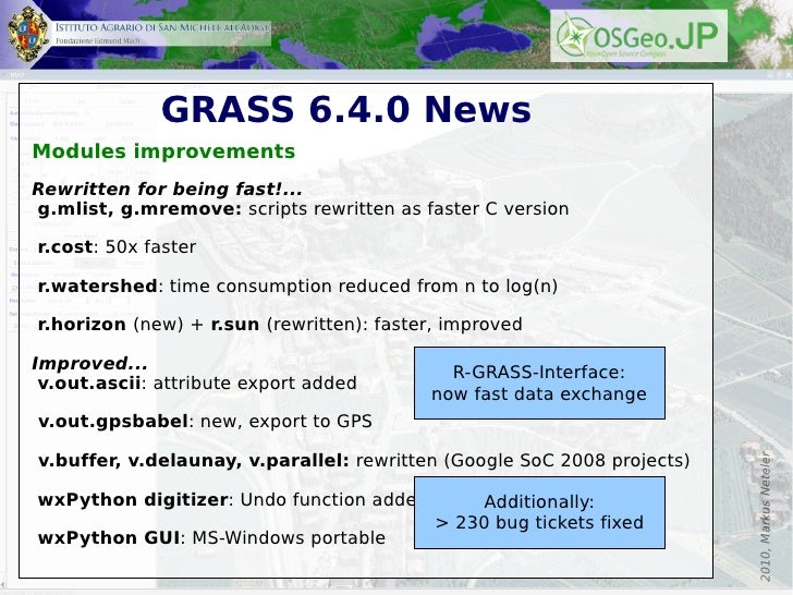 25 Years of GRASS GIS