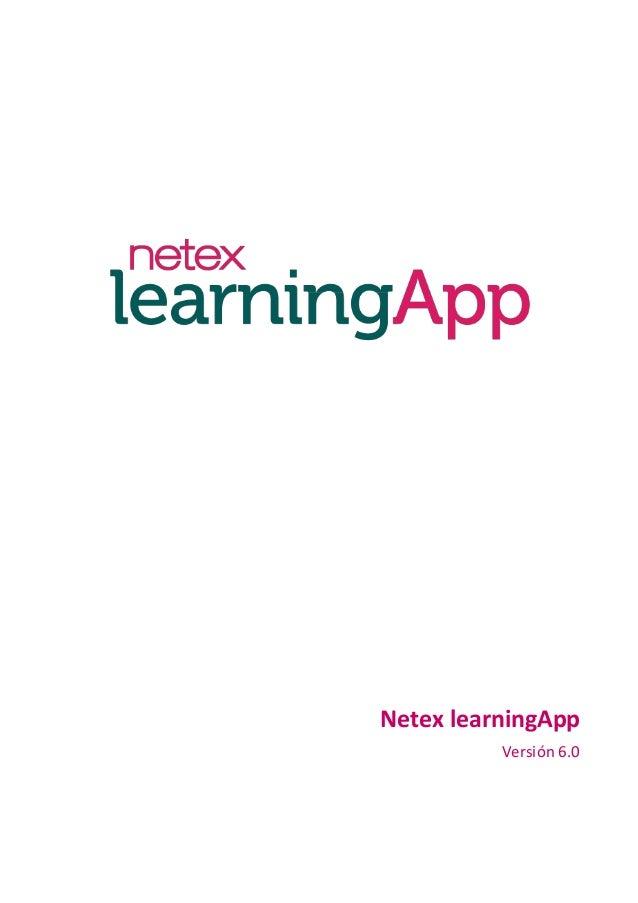 Netex learningApp Versión 6.0