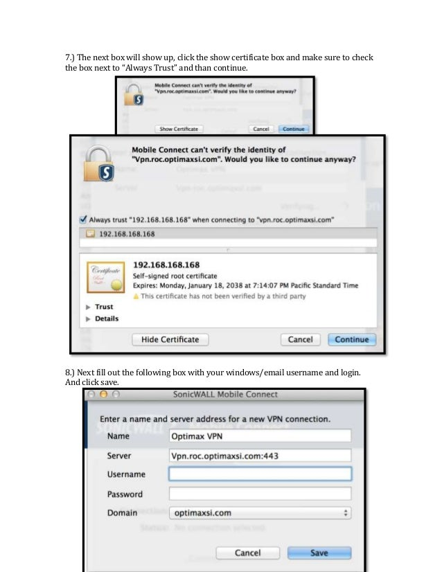 Netextender mac