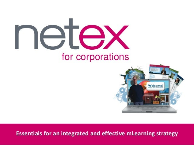 for corporationsEssentials for an integrated and effective mLearning strategy