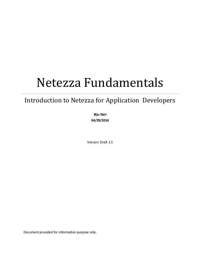netezza fundamentals for developers rh slideshare net oracle database application developer's guide - fundamentals oracle 11g application developer's guide fundamentals