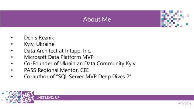 .NET Fest 2018. Денис Резник. Почему мой запрос тормозит и как это исправить Slide 2