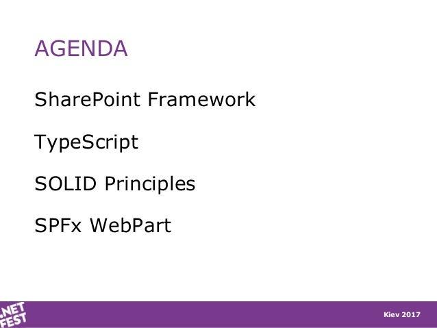 .NET Fest 2017. Stefano Tempesta. SOLID SharePoint apps with TypeScript and SharePoint Framework Slide 2