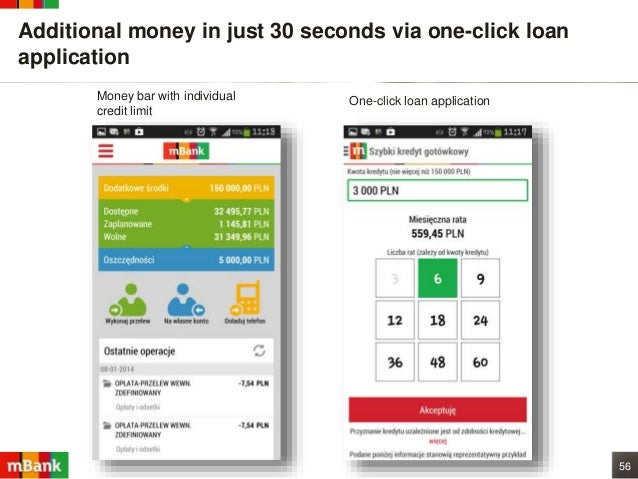 One Click Loan >> Mbank The Most Design Driven Digital Bank In The World Netfinance