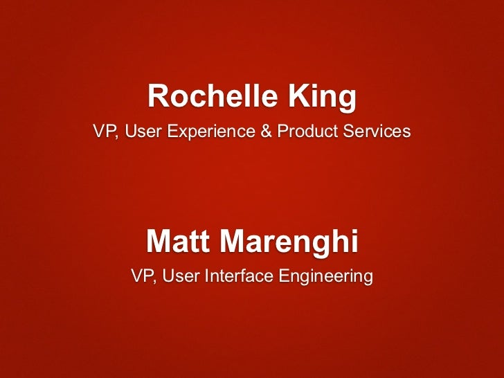 Consumer Science and Product Development at Netflix - OSCON 2012 Slide 2