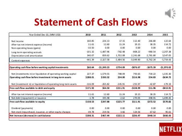 netflix business analysis  u0026 valuation