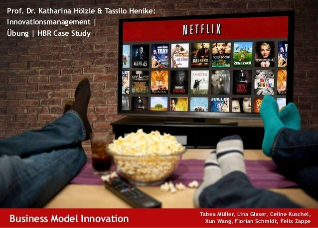 20.01.2016 Innovationsmanagement: Business Model Innovation at Netflix WiSo-Fakultät | Uni Potsdam Disclaimer Prof. Dr. Ka...