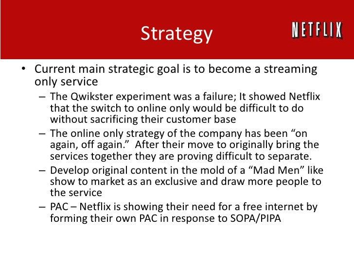 Netflix strategic plan