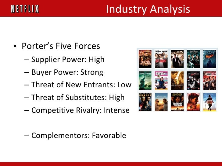 netflix porter 5 forces I have a case about netflix company i need to write porter's 5 forces analysis in high , medium , and low in two to three pages from the case or somewhere alse that have referances like.