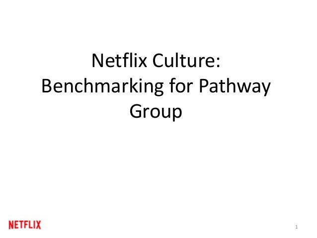 Netflix Culture: Benchmarking for Pathway Group 1