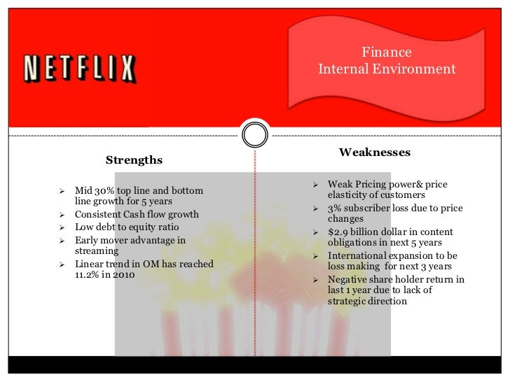 financial analysis of netflix We assess netflix's financial health by checking for: are short term assets greater than short term liabilities view our latest analysis for netflix market analysts' prospects for this coming year seems positive, with earnings growth more than doubling.