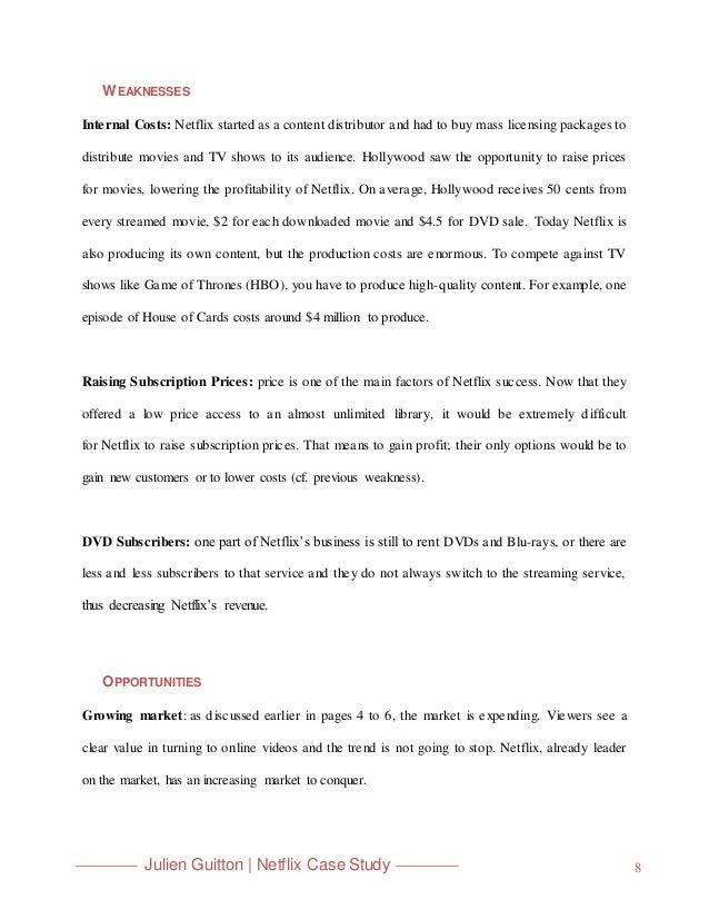Netflix Case Study – Mass-mass Stoichiometry Worksheet