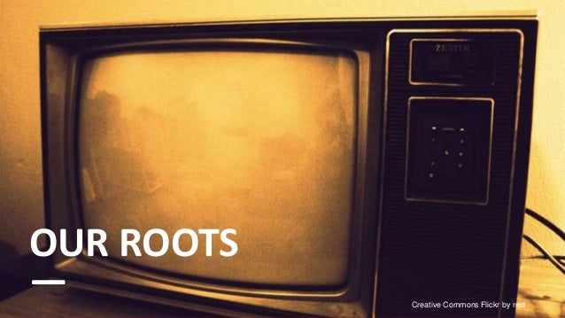OUR ROOTS—           Creative Commons Flickr by reid                                              3