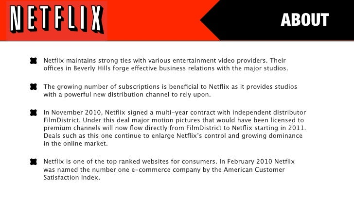 netflix pestel analysis Find the latest and most comprehensive swot & pestle analysis of netflix, a  leading internet television provider.