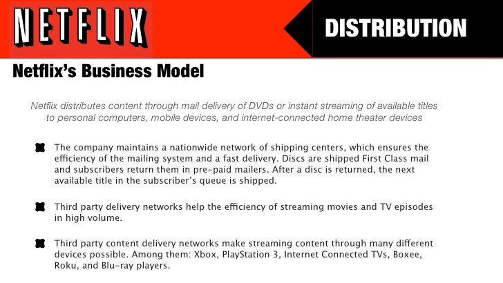 the business model of netflix essay Insights by stanford business netflix broke the building a model to represent netflix's business was difficult because of the enormous working papers.