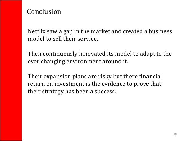 netflix's business model and strategy in Netflix: business model analysis netflix should not be thought of as a streaming business streaming is not the business model, it's the source of data.