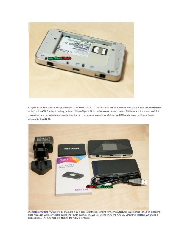 rogers netgear aircard how to connect