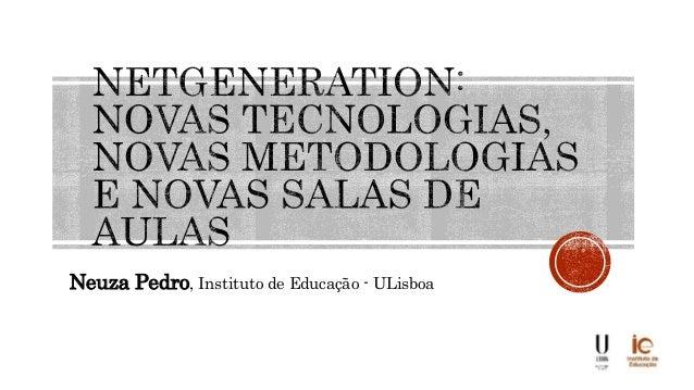 Neuza Pedro, Instituto de Educação - ULisboa