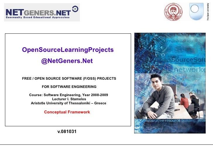 OpenSourceLearningProjects                            @NetGeners.Net             ...