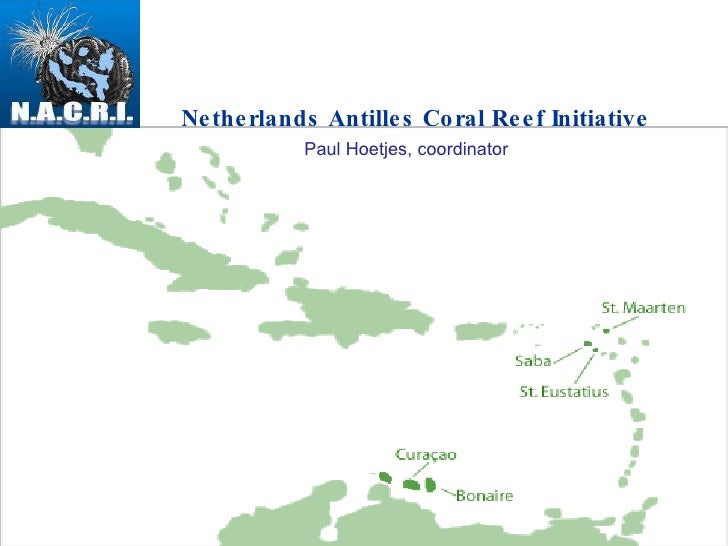 Netherlands Antilles Coral Reef Initiative Paul Hoetjes, coordinator
