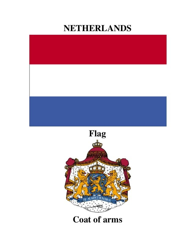 NETHERLANDS Flag Coat of arms