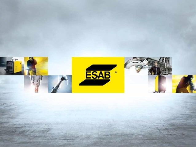 WAARDEn en PRESTATIES gelijk aan VERTROUWEN.  ESAB biedt hoogwaardige prestaties met een hoge toegevoegde waarde, zodat de...