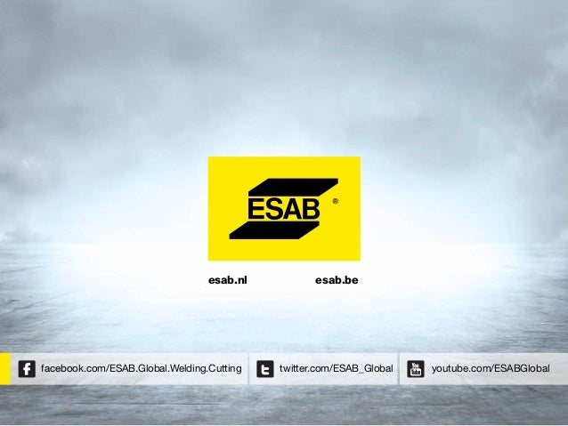 ESAB in 2014.. Bedrijfspresentatie