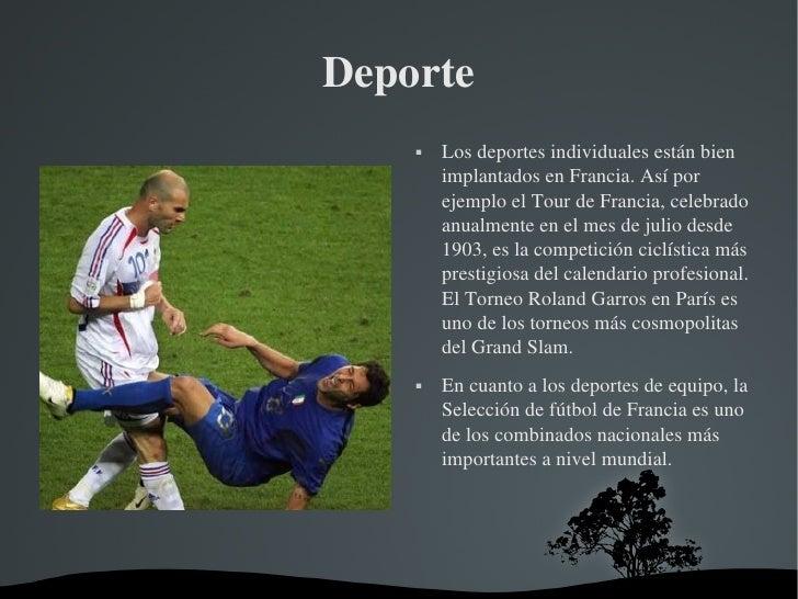 Deportes Francia