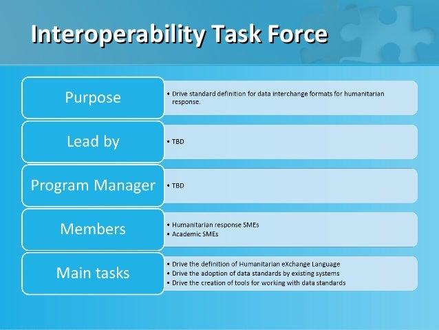 Interoperability Task Force