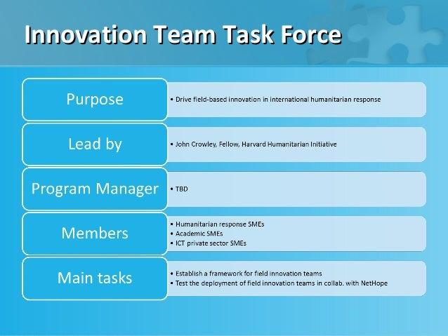 Innovation Team Task Force