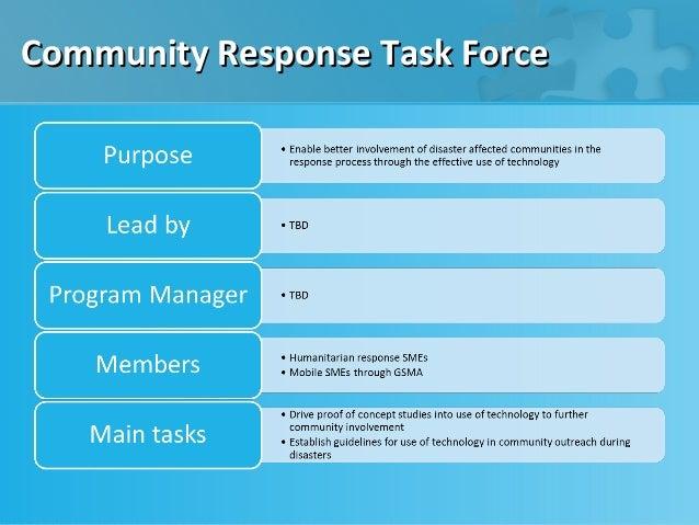 Community Response Task Force
