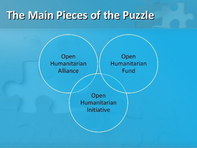 The Main Pieces of the Puzzle