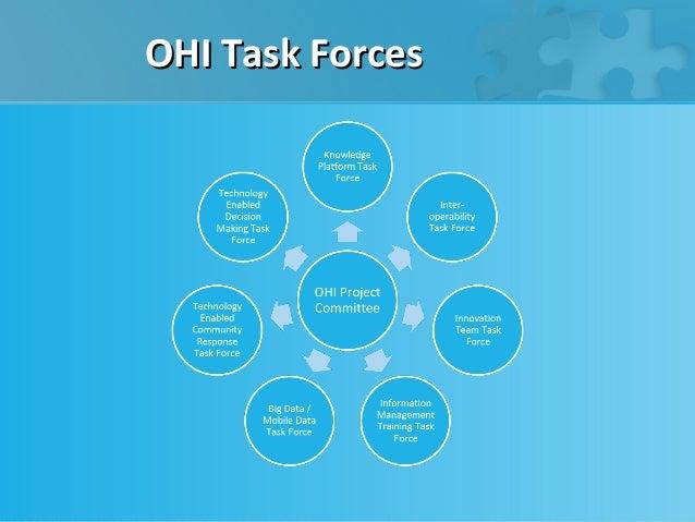 OHI Task Forces