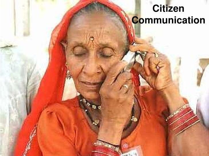 Citizen<br />Communication<br />