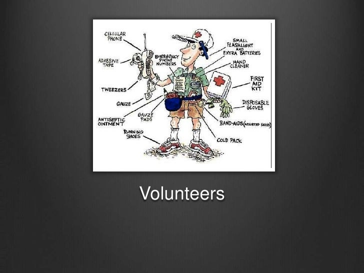 Volunteers<br />
