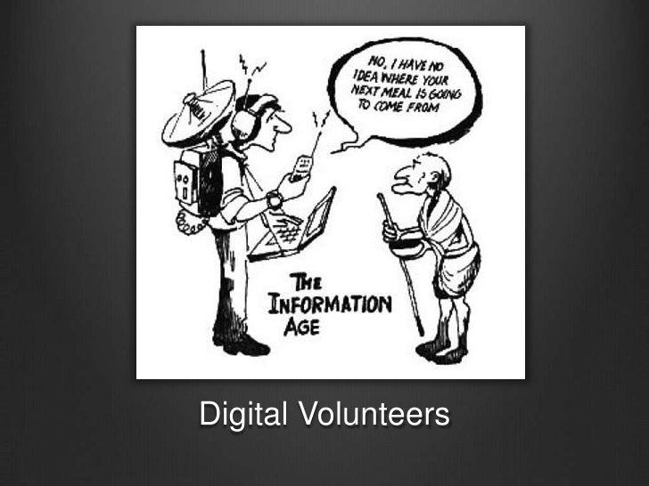 Digital Volunteers<br />