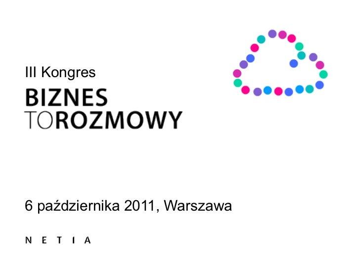 III Kongres6 października 2011, Warszawa