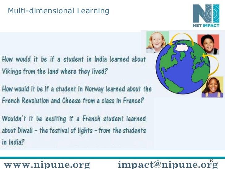 Multi-dimensional Learning www.nipune.org [email_address]