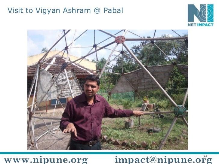 Visit to Vigyan Ashram @ Pabal www.nipune.org [email_address]