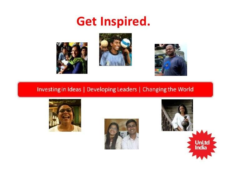 Net impact unltd india supporting social entrepreneurs