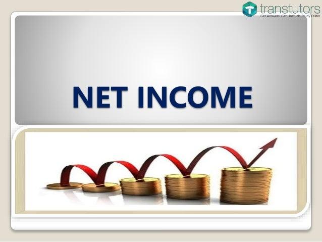 how to close net income