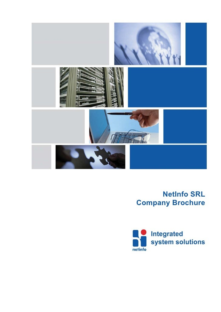 NetInfo SRL Company Brochure