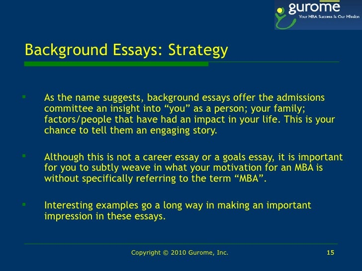 Love Essays Example   Background Essays  Topics For Argumentative Essay also Example Of A Good Persuasive Essay Netip Conference  Seattle  Gurome Gmat Mba Career Workshop Slides The Great Gatsby Essay Topics