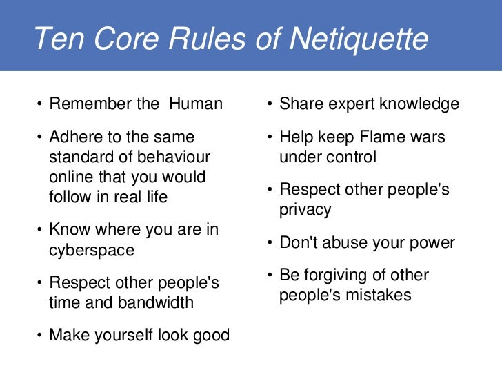 ten rules of good ex etiquette for dating