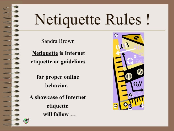 Internet dating etiquette guidelines