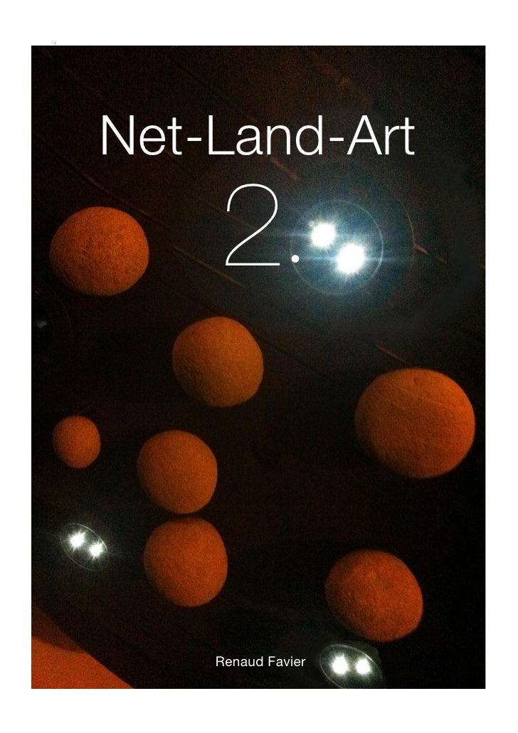 .    Net-Land-Art        2·        Renaud Favier