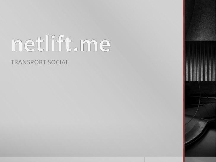 TRANSPORT SOCIAL