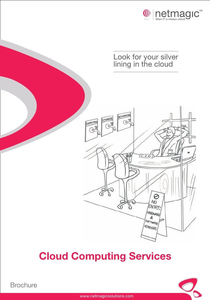 Look for your silver                                 lining in the cloud           Cloud Computing ServicesBrochure       ...
