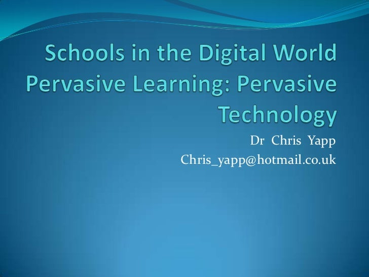 Dr Chris YappChris_yapp@hotmail.co.uk