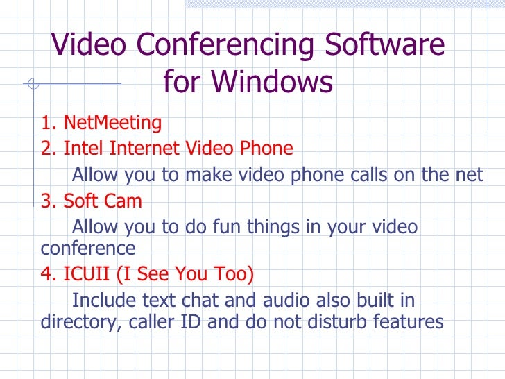 netmeeting directorys Videoconferencing at uva  the next setting to change is whether to log onto a directory server a directory server lists active netmeeting sessions.